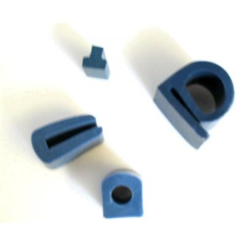 Detekterbara tätningar - P form