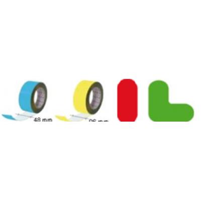Golvmärknings etikett - linje 90x180