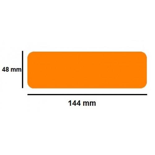 Golvmärknings etikett - linje 48x144mm