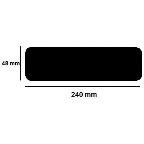 Golvmärknings etikett - linje  48x240mm