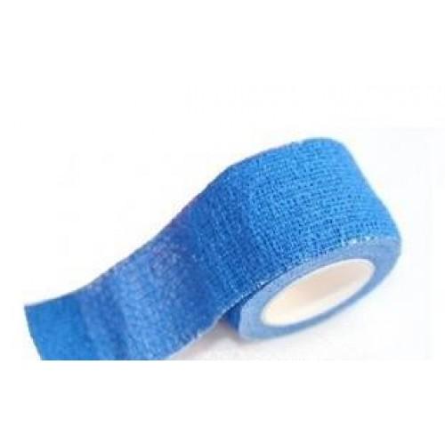 Blå självhäftande bandage 3 cm x 5 cm - Ej detekterbara