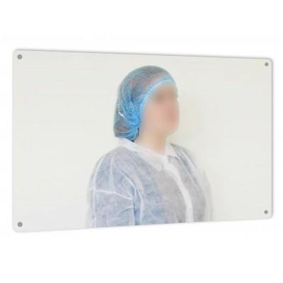 Detekterbar okrossbar spegel 600x400mm