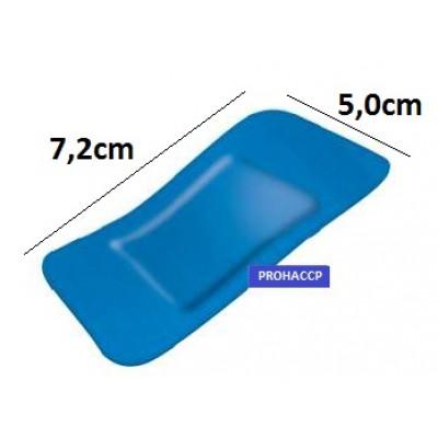 Detekterbara blå plåster 7.2x5.0cm 50st/fp
