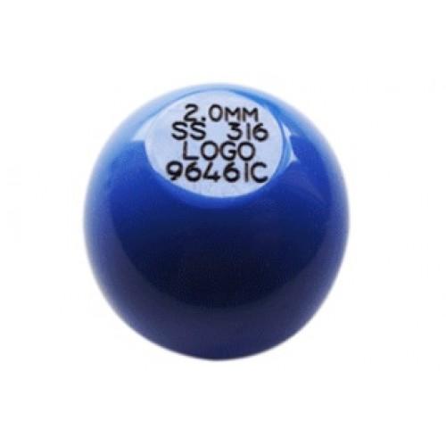 Provstycken för Metalldetektor  BOLL - Ø35mm - boll upp till 7.5mm