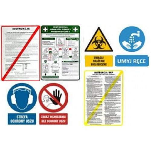 Detekterbara pappersdekaler och instruktioner (A4)